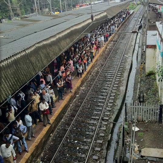Photo taken at Dadar Railway Station by Anant U. on 7/29/2011