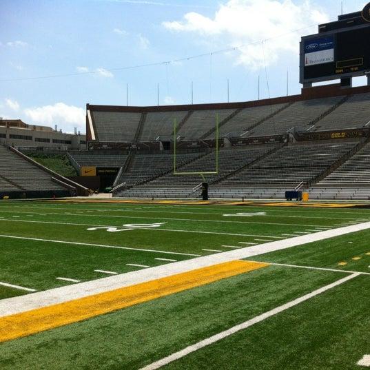 Photo taken at Kinnick Stadium by wayne m. on 6/16/2012