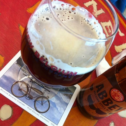 Photo taken at New Belgium Brewing Hub by James F. on 5/22/2011