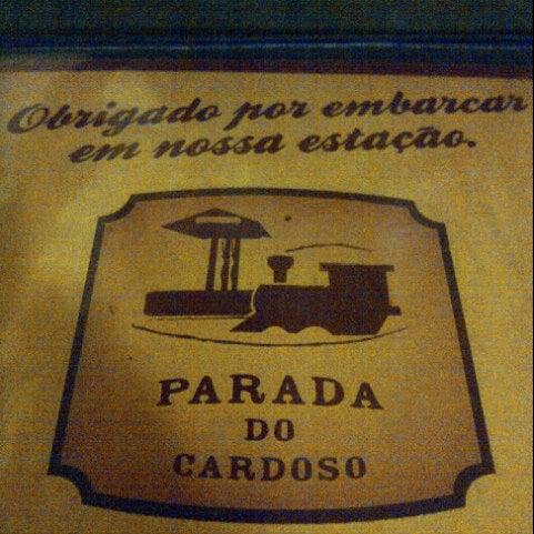 Foto tirada no(a) Parada do Cardoso por Ana Gori em 7/6/2012