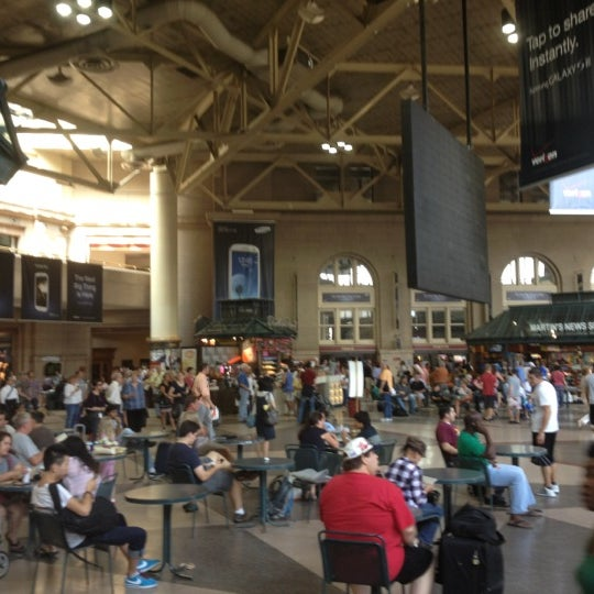Photo taken at South Station Terminal (MBTA / Amtrak) by Wes M. on 8/31/2012