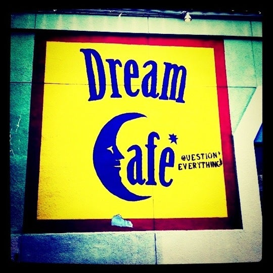 Dream Cafe Dallas Menu