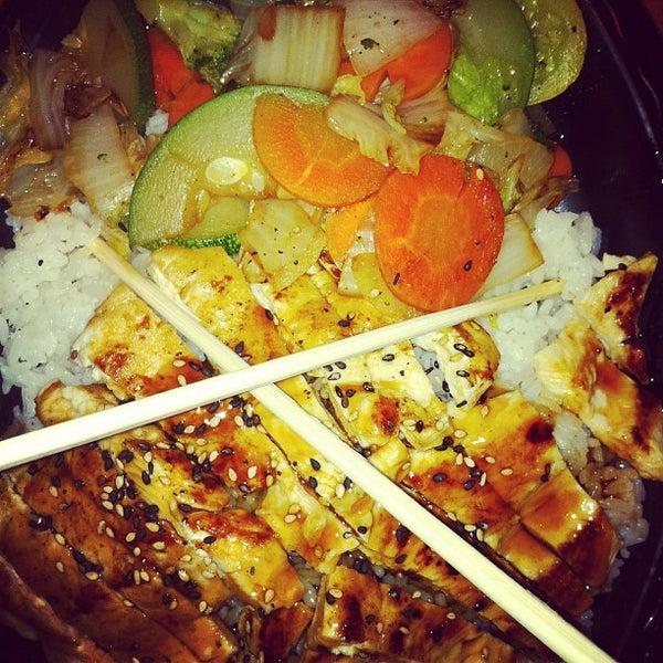 Photo taken at Mr. Roboto Tokyo Grill by Sara M. on 5/25/2012