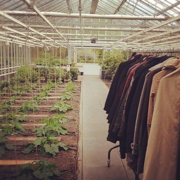 Photo taken at De Kas by CBM  on 4/25/2012