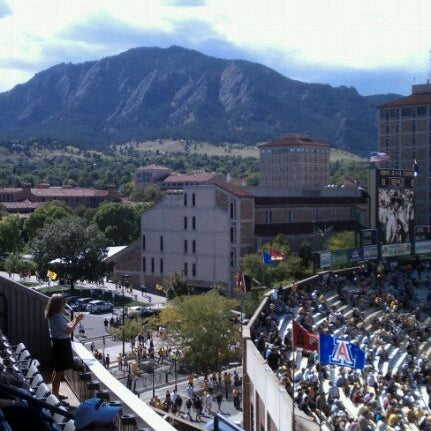 Photo taken at Folsom Field by Todd W. on 10/1/2011