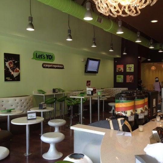 Photo taken at Let's YO! Yogurt by Ali S. on 5/28/2012