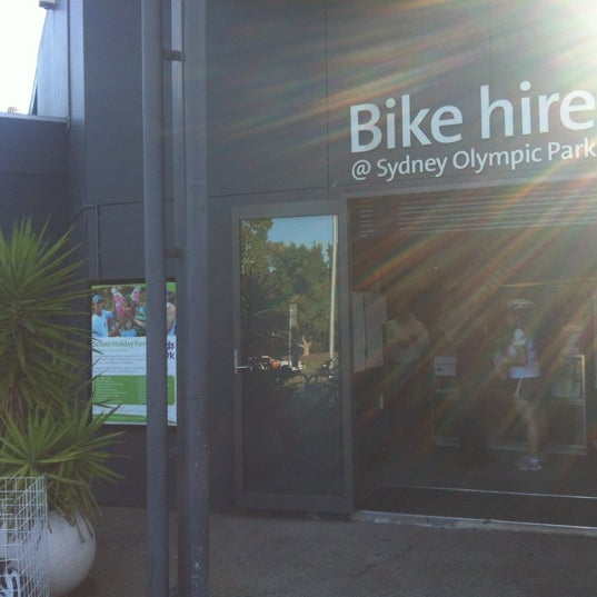 Photo Taken At Bike Hire Sydney Olympic Park By Anderson L On 7