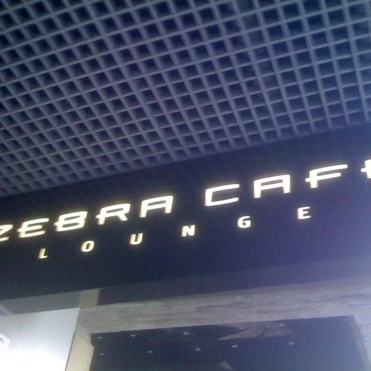 Photo taken at Zebra Café by Veljo H. on 1/28/2011