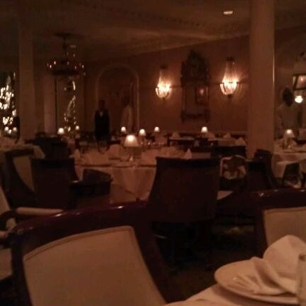 Photo taken at Broussard's Restaurant & Courtyard by Lindsay G. on 12/16/2011