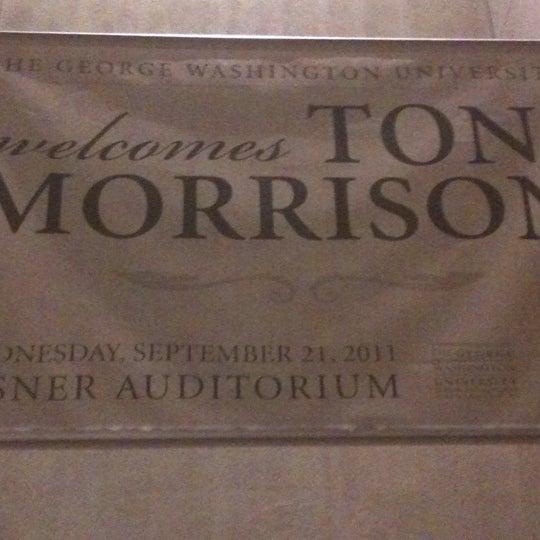 Photo taken at Lisner Auditorium by Jeff on 9/21/2011