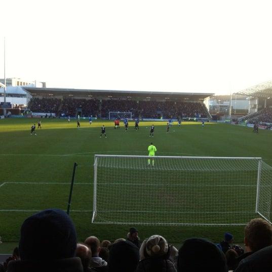 Photo taken at The Proact Stadium by Stephen S. on 1/2/2012