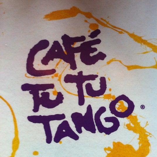 Photo taken at Café Tu Tu Tango by Chrisopher T. on 7/17/2011