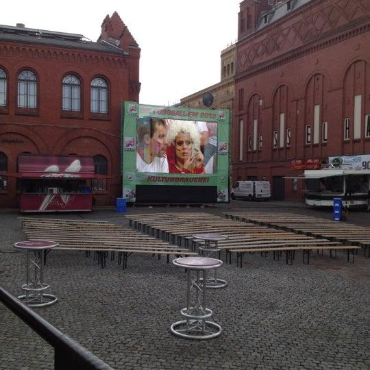 Photo taken at Kulturbrauerei by Matthias K. on 6/13/2012