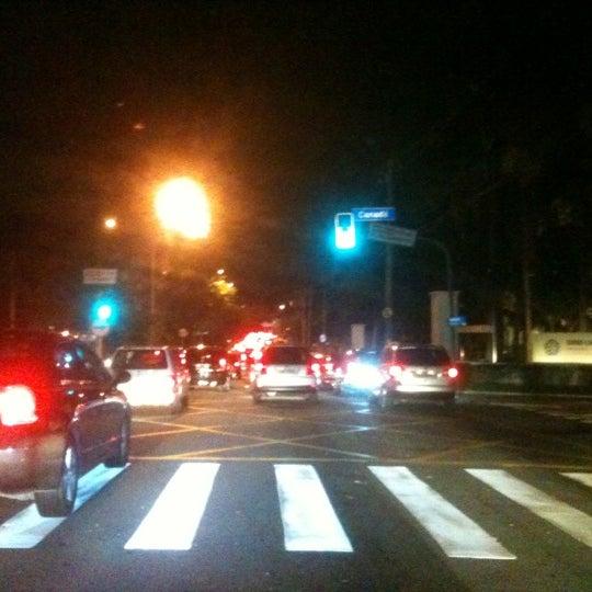 Photo taken at Avenida Brasil by Andrea N. on 6/4/2012