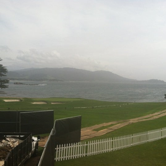 Photo taken at The Lodge at Pebble Beach by Anna W. on 4/12/2012