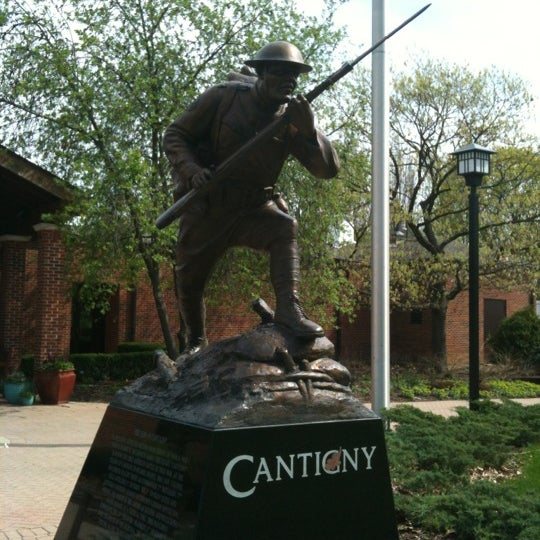 Photo taken at Cantigny Park by Ken D. on 3/27/2012