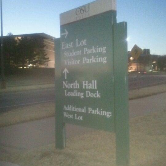Photo taken at Oklahoma State University - Tulsa (OSU-Tulsa) by Aeron T. on 2/25/2012