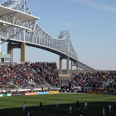 Photo taken at Talen Energy Stadium by Steven M. on 7/29/2012
