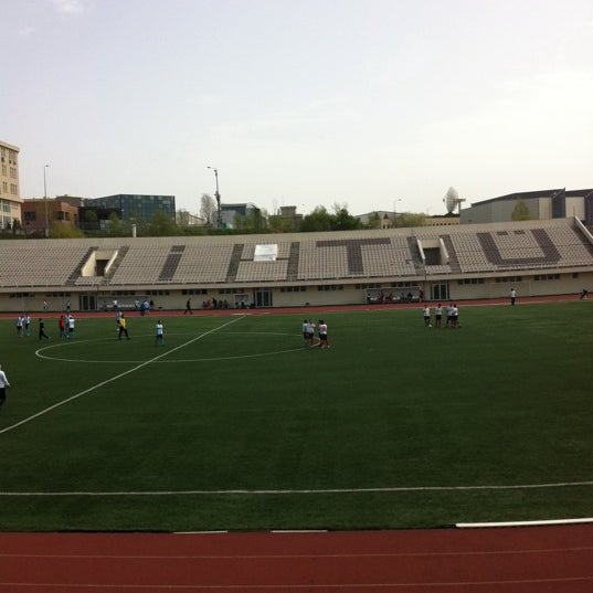 "Photo prise au İTÜ Stadyumu par ""Ömer K. le4/14/2012"