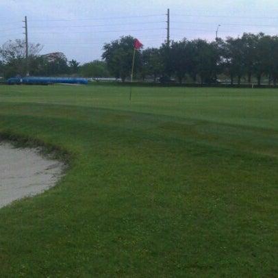 Photo taken at Palmetto Golf Course by Dedrick B. on 7/10/2012