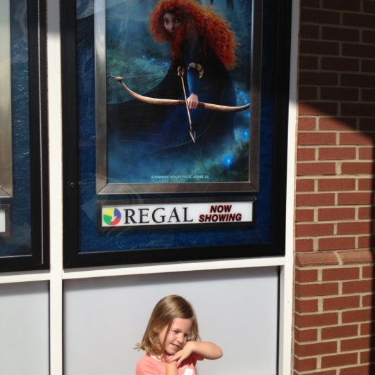 Photo taken at Regal Cinemas Birkdale 16 & RPX by Neil P. on 7/14/2012
