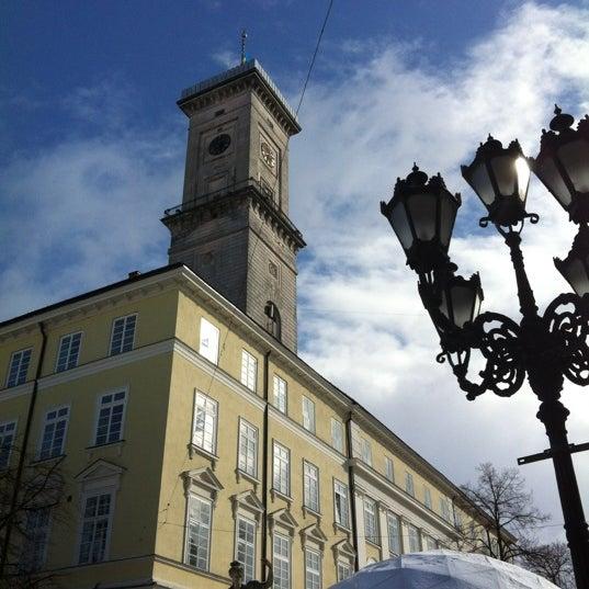 Снимок сделан в Площадь Рынок пользователем Roman💙💛 2/27/2012