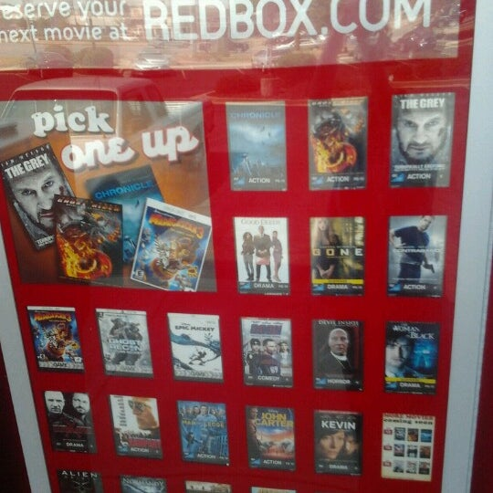 Want to make sure you get your movie or game before it rents out? Reserve it online! All you need to do is choose a disc you want to reserve and follow the instructions on the checkout screen. Then head to the box by 9 p.m. and pick it up with a swipe of your card. Picking up is easy.