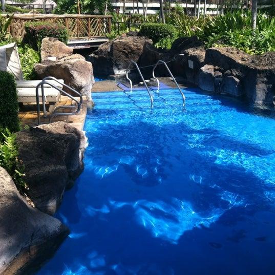 Photo taken at Sheraton Maui Resort & Spa by Alice L. on 4/14/2012