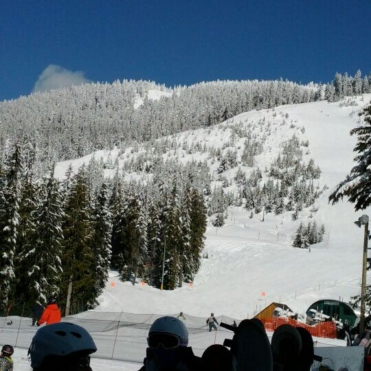 Photo taken at Cypress Mountain Ski Area by Ashar K. on 3/6/2012