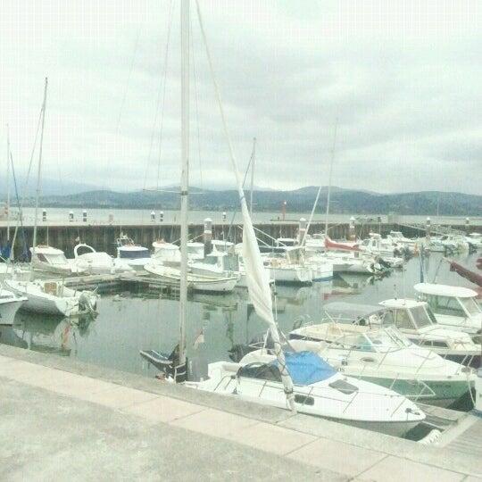Photo taken at Santoña by Elisabet C. on 8/20/2012