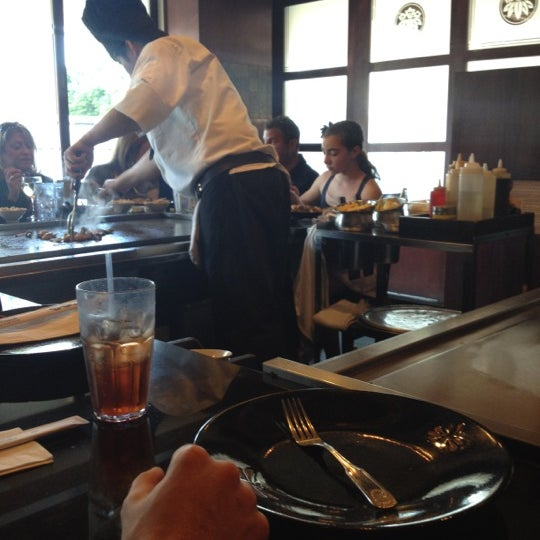 Photo taken at Samurai Japanese Steakhouse by Peace A. on 5/20/2012