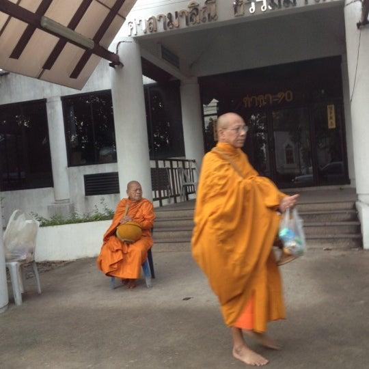 Photo taken at ลานใส่บาตร by Som O D. on 7/4/2012