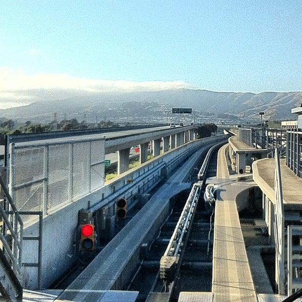 Airport Tram In San Francisco International