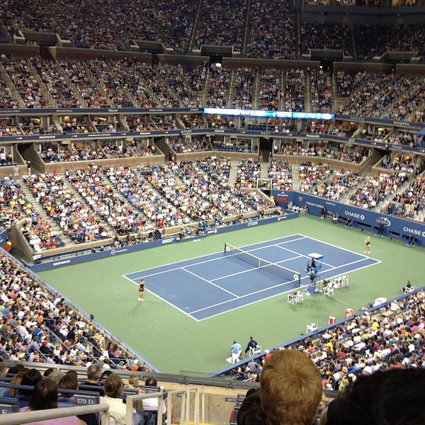 Photo taken at US Open Tennis Championships by Pierre D. on 9/3/2012