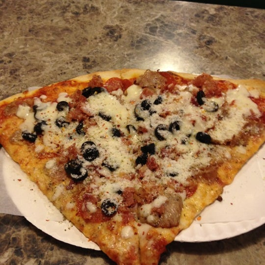 Photo taken at Toby's Original Little Italy Pizza by Joe West P. on 6/24/2012