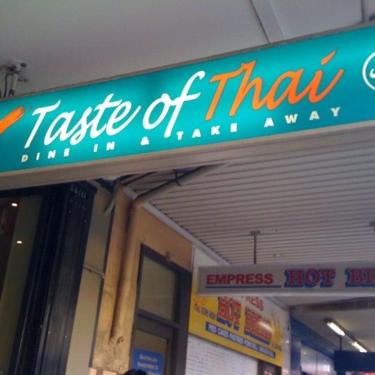 Photo taken at Taste of Thai by Celine K. on 3/6/2011