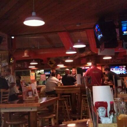 Photo taken at Hooters of Ontario by Eddie M. on 12/23/2011