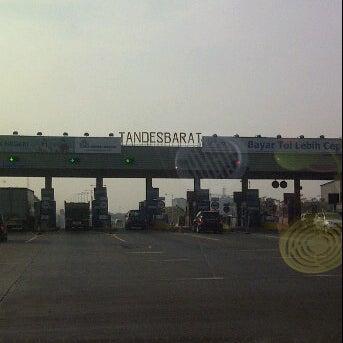 Photo taken at Tol Surabaya Gresik by Ucy C. on 8/18/2011