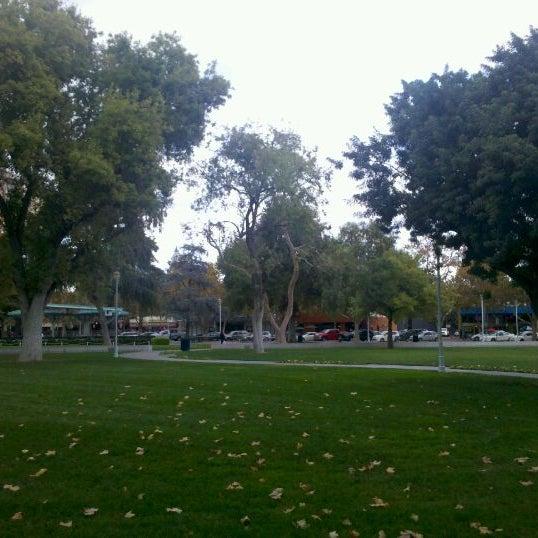 Photo taken at Todos Santos Plaza by Justin S. on 11/17/2011