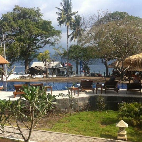Oceans 5 dive resort gili air gili air lombok - Lombok dive resort ...