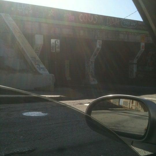 Photo taken at Krog Street Tunnel by Nancy C. on 1/19/2012