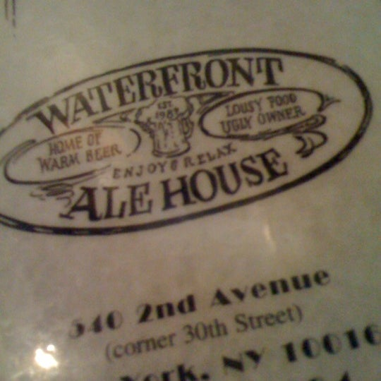 Photo taken at Waterfront Ale House by Andrew S. on 2/24/2011