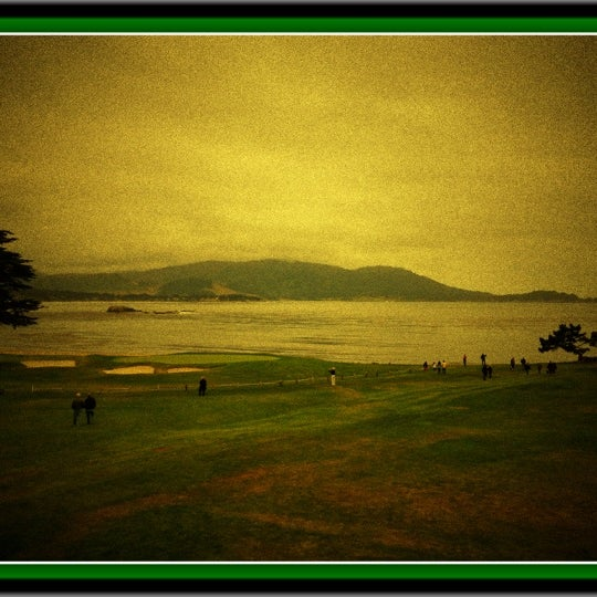 Photo taken at The Lodge at Pebble Beach by Philippe R. on 5/26/2012
