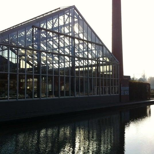 Photo taken at De Kas by Emile V. on 11/24/2011