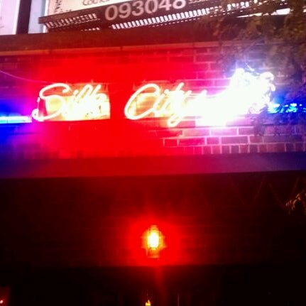 Photo taken at Silk City Diner Bar & Lounge by Dan S. on 10/19/2011