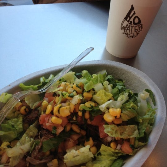 Photo taken at Chipotle Mexican Grill by Trill S. on 4/16/2012