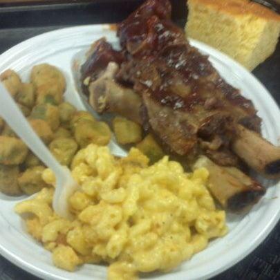Photo taken at Nana's Soul Food Kitchen by Liz C. on 9/8/2011