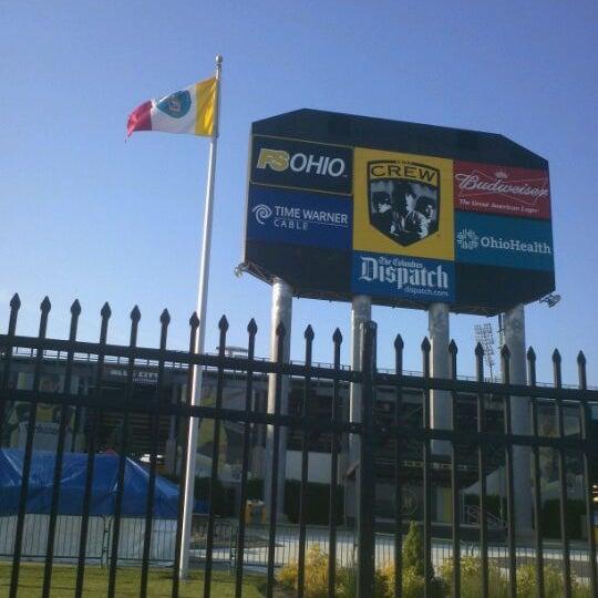 Photo taken at MAPFRE Stadium by Jonas V. on 5/18/2012
