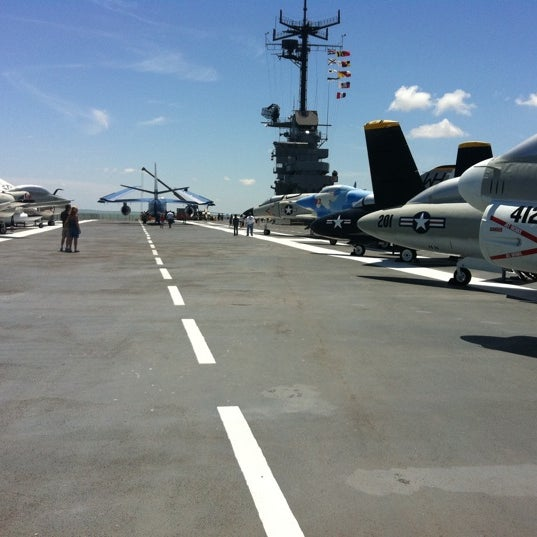 Photo taken at USS Lexington Museum On The Bay by Conrad C. on 8/21/2011