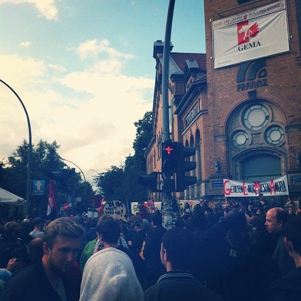 Das Foto wurde bei Frannz Club von Tillmann A. am 6/25/2012 aufgenommen